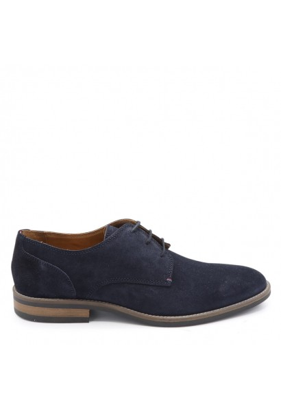 ESSENTIAL SUEDE LACE UP DERBY