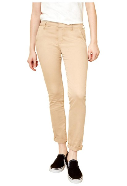 Pantalon chino uni SANDY 2 BASIC Beige