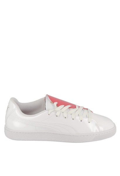 Basket CRUSH Blanc/rouge