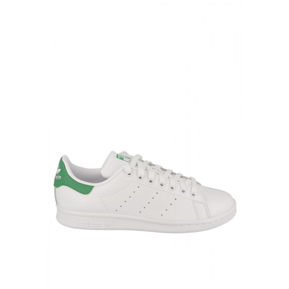 basket adidas femme blanche et verte