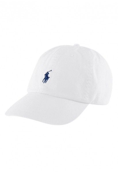 Casquette baseball ajustable Blanc