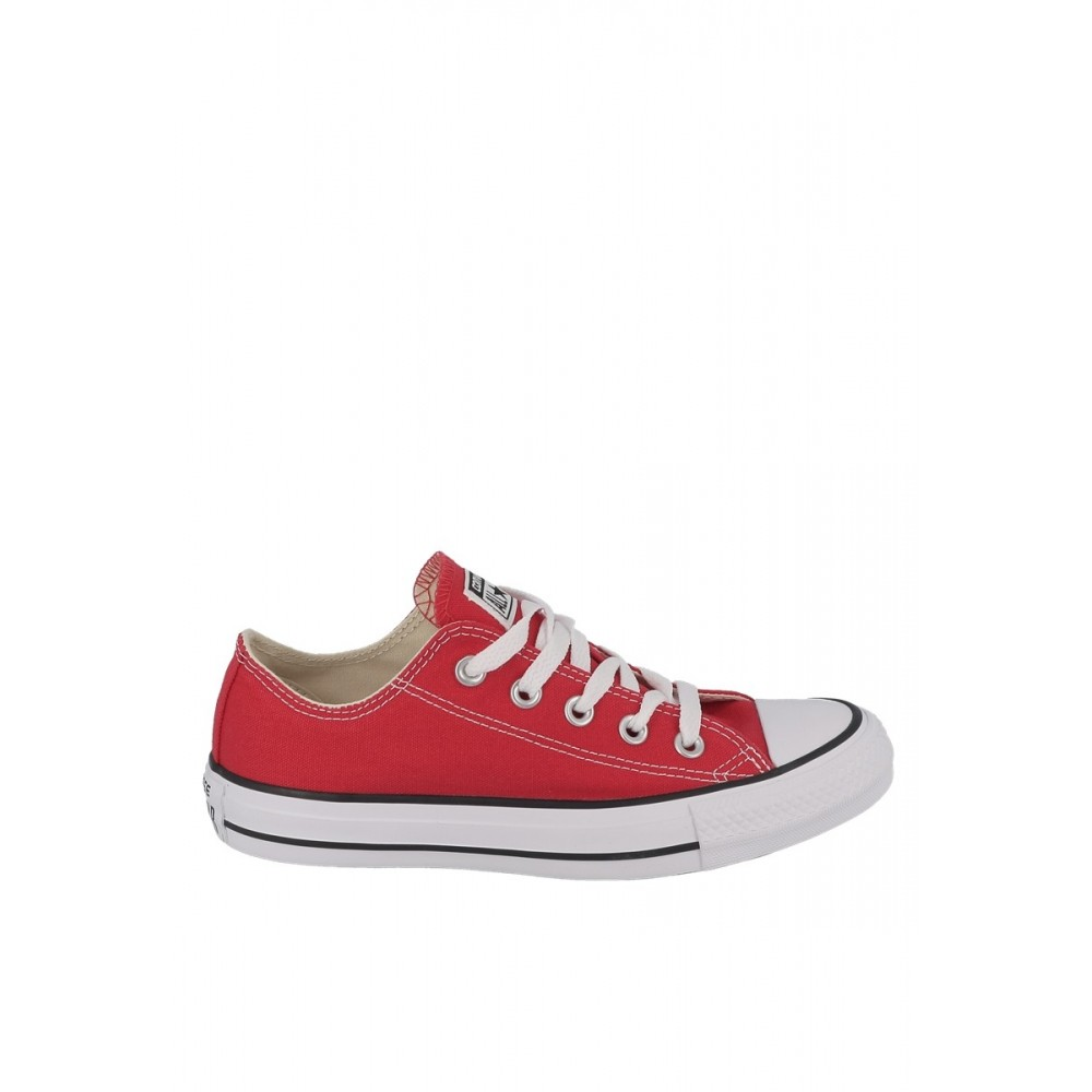 Basket toile basse ALL STAR OX Rouge