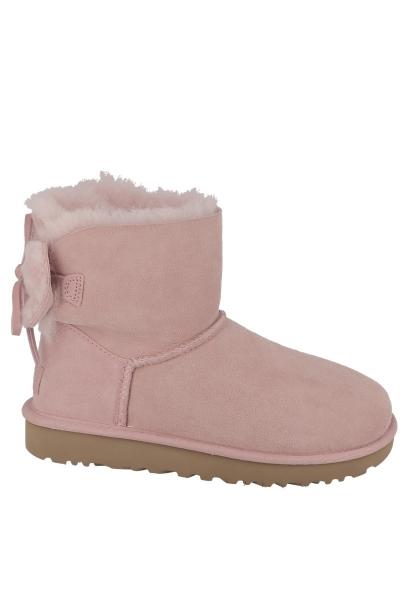 Boots CLASSIC DOUBLE BOW MINI Rose poudrÉ