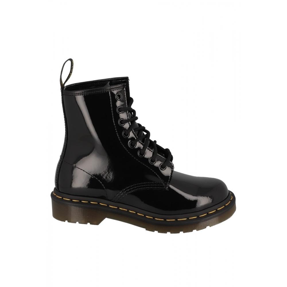 Boots 1460 W PATENT Noir