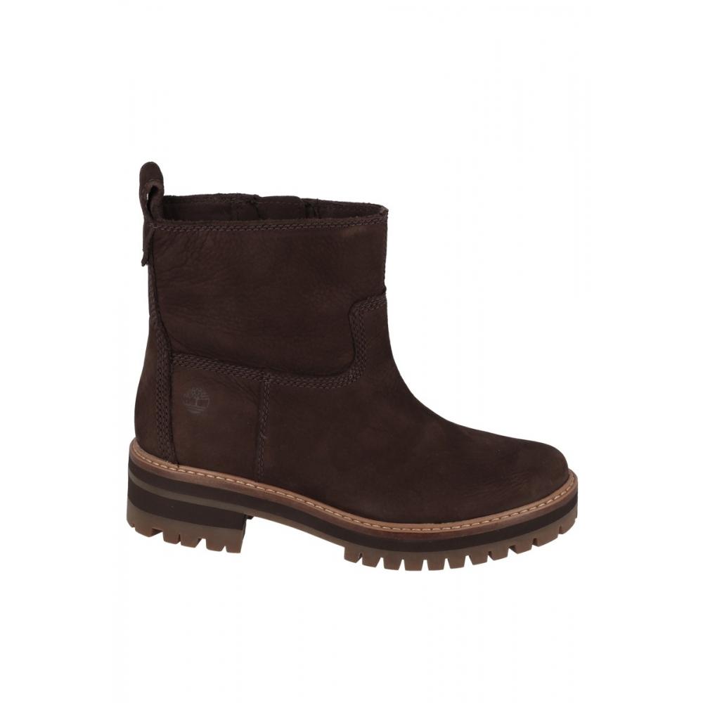 Boots talon 35 cm COURMAYEUR VALLEY FAUSSE FOURRURE Chocolat