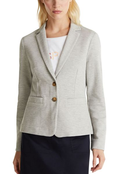 Blazer en jersey stretch