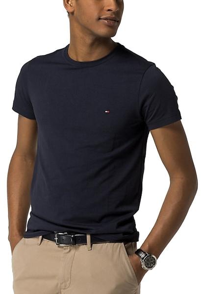 Tee shirt manches courtes ajusté extensible