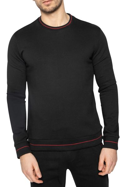 Sweat regular col rond DRICK202 Noir