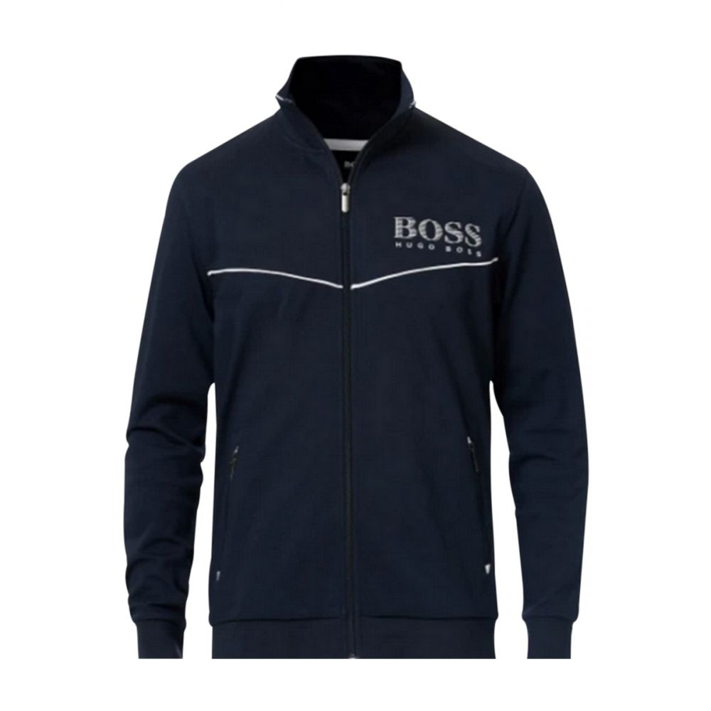 Veste de jogging tracksuit jacket bleu marine