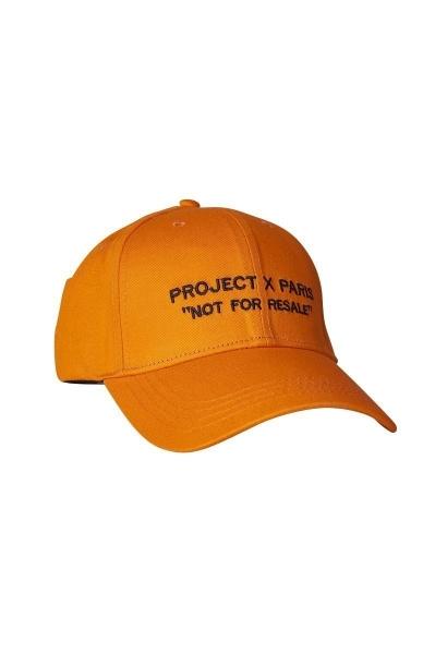 Casquette ajustable et visière incurvée Orange