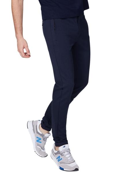 Pantalon jogg chic Bleu marine