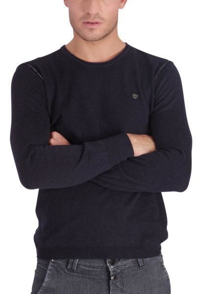 Pull col rond GREAT Bleu marine