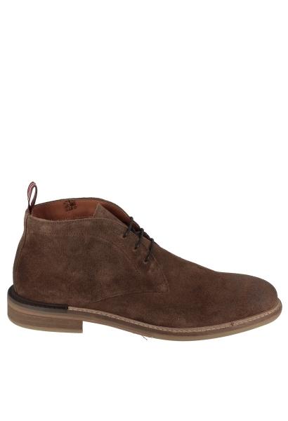 Boots lacets fins PILOT DESERT SUEDE Marron