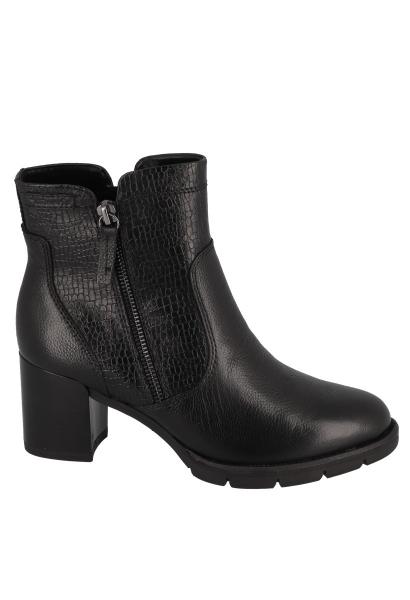 Boots chelsea talon bloc 65 mm Noir