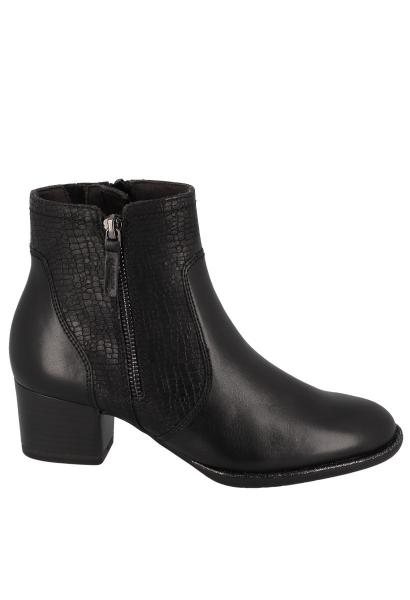 Boots chelsea talon bloc 50 mm Noir