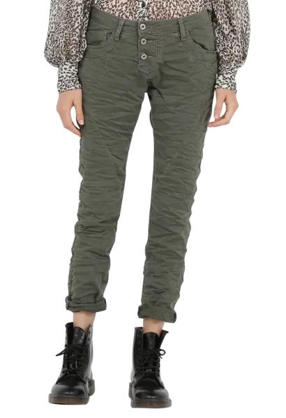 Pantalon chino 3 boutons Gris foncÉ