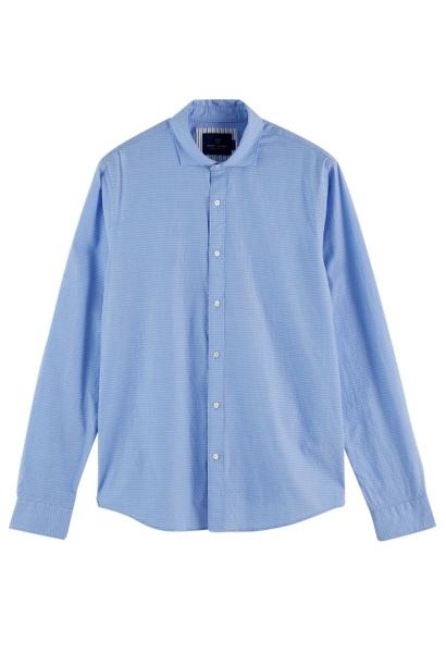 chemise manches longues Bleu ciel
