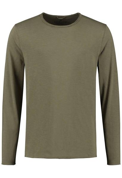 Tee shirt manches longues Kaki