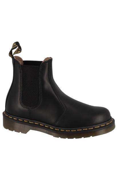 Boots chelsea semelle avec surpiqûre jaune 2976 YS Noir