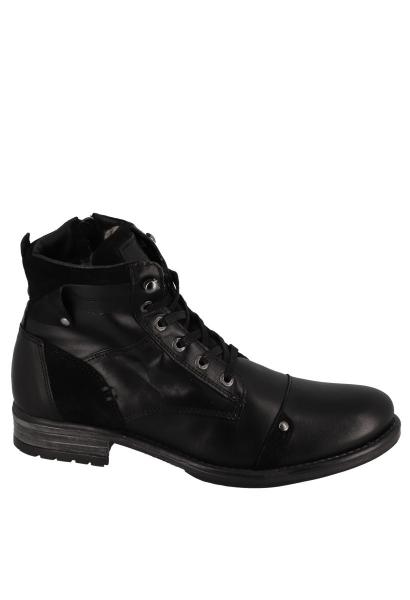 Boots à lacets YANI Noir