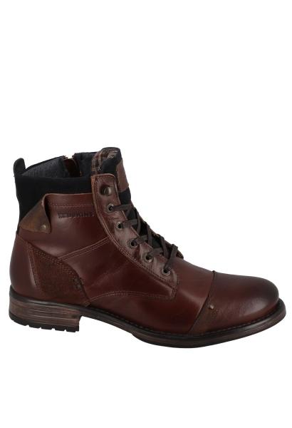Boots à lacets YANI Marron
