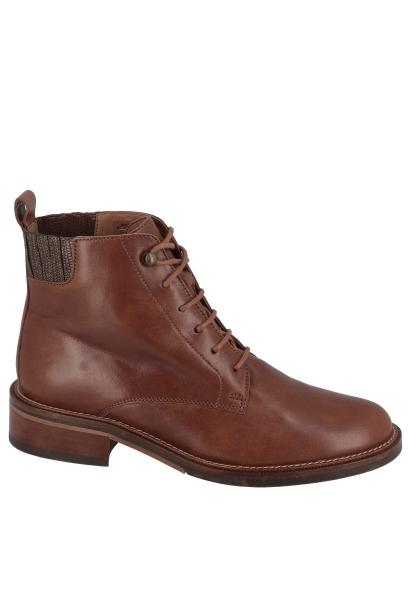 Boots lacets fins CANDIDE DESERT BOOTS BREZZA/CORTO Cognac