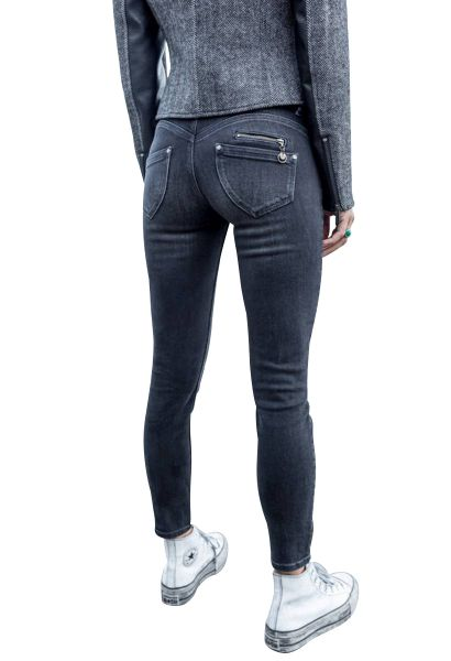 Jean cropped super slim taille haute ALEXA Black used