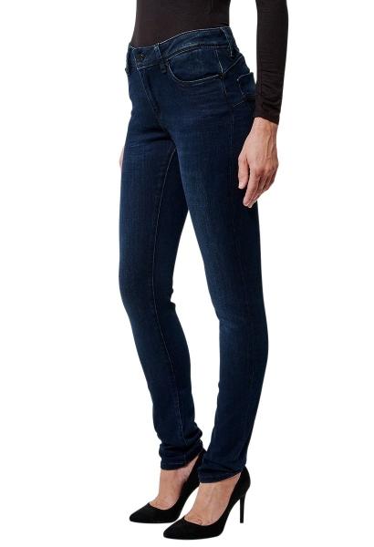 Jean skinny taille haute FLORE ETH Bleu indigo