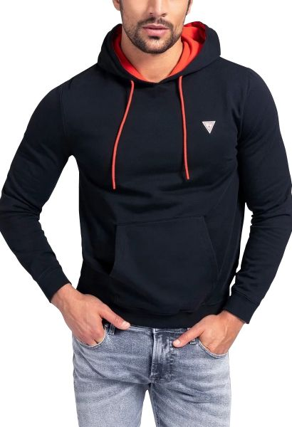 Sweat capuche CHRISTIAN Noir
