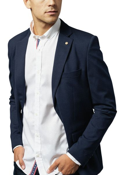Veste blazer HENRI Bleu marine
