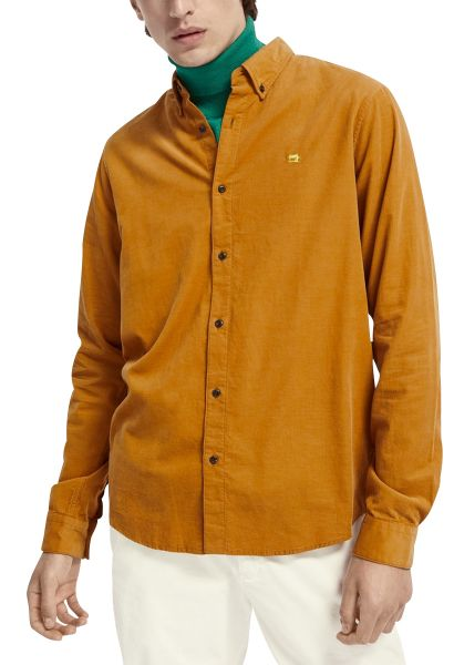 Chemise manches longues Camel