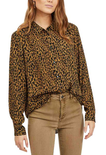 Chemise ML LUCY FAV LUX Camel