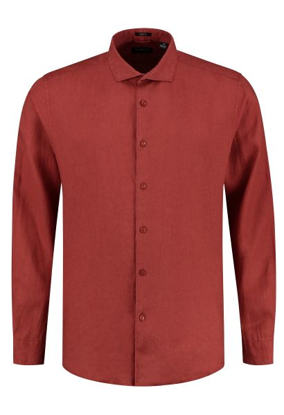 Chemise manches longues Rouge