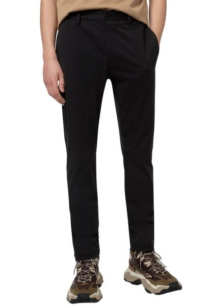 Pantalon chino slim fit DAVID Noir