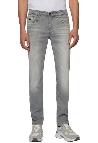 Jean tapered TABER Gris clair